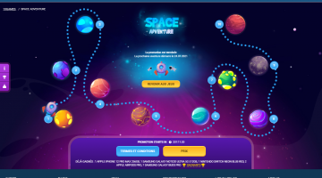 1xBet - Space Adventure