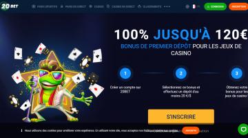 20Bet Bonus casino