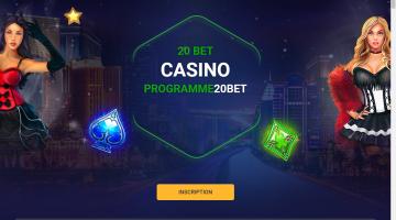 20Bet programme VIP du casino
